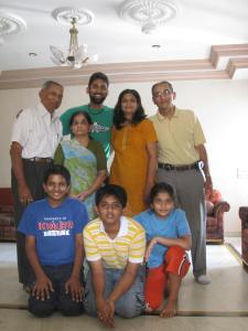 Kirit Kaka's family.